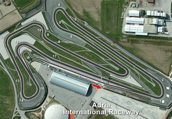 Circuito Adria : My racing career