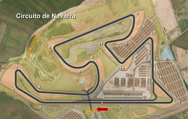 Circuito Navarra : My racing career