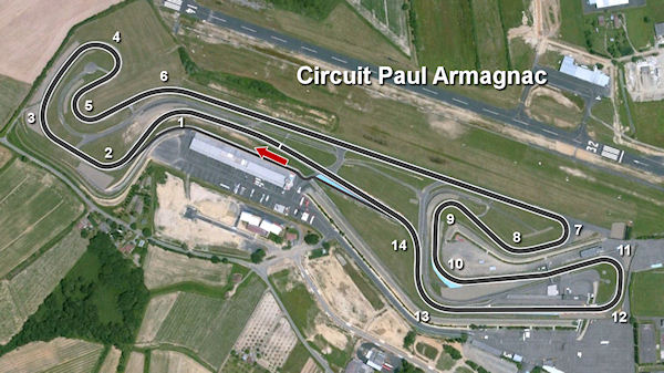 Circuito Nogaro : My racing career