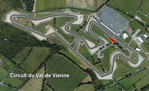 Val de Vienne Map