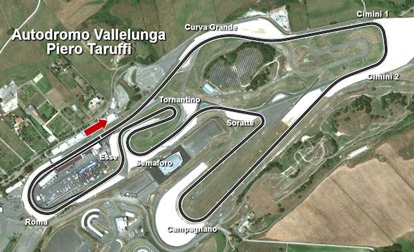 Circuito Vallelunga : My racing career