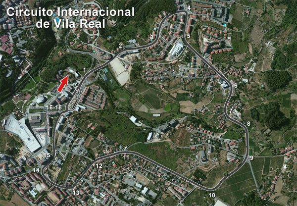 Circuito Vila Real : My racing career