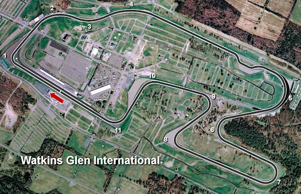 Circuito Watkins Glen : My racing career