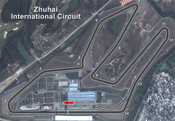 | PC2 BLANCPAIN GT3 SERIES T.IV | Sanciones Zhuhai Zhuhai_600